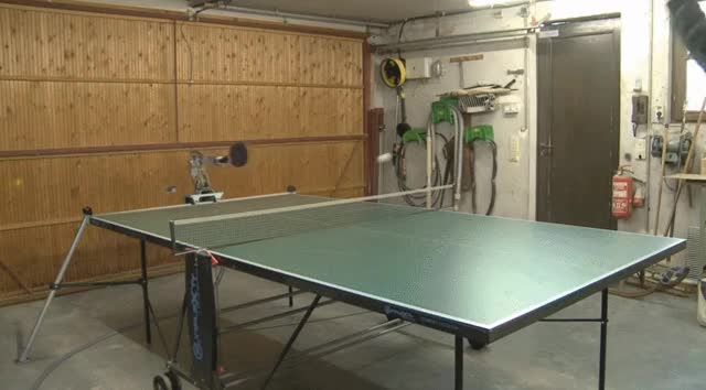 Watch and share This Ping Pong Robot Can Do Long Rallies GIFs by heun3344 on Gfycat
