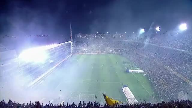 Watch and share La Bombonera - Boca Juniors Amazing Entrance Vs. River Plate (1) GIFs on Gfycat