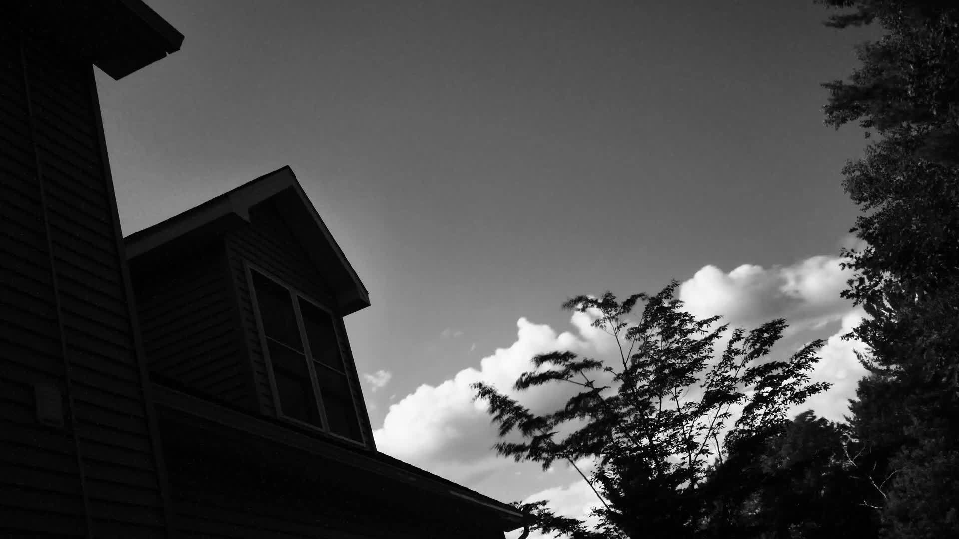 house, Clouds GIFs