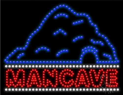 Watch and share Man Cave LED Sign GIFs on Gfycat