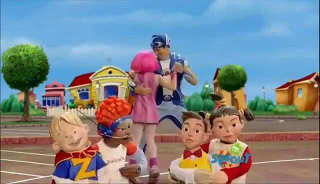 Watch and share LazyTown S01E04 Crystal Caper 1080i HDTV GIFs on Gfycat