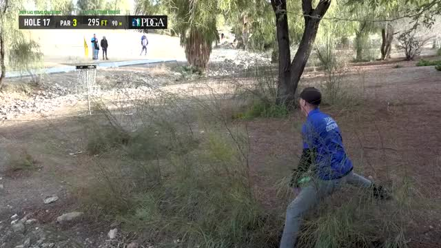 Watch 2019 LVC - Round 3 Andrew Presnell hole 17 putt GIF by Benn Wineka UWDG (@bennwineka) on Gfycat. Discover more dgpt, disc, disc golf, mcbeast, nate sexton, paul mcbeth, pdga, simon lizotte, tournament GIFs on Gfycat