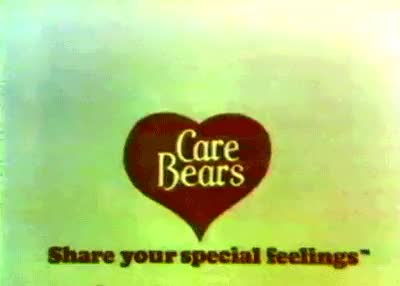 Watch this GIF on Gfycat. Discover more 1980s, 80s, 80s commercials, 80s gifs, 80s kids, 80s toys, animals, care bears, childhood, cute, gif, nostalgia, retro, toys GIFs on Gfycat