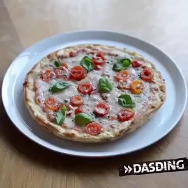 Italien gegen Deutschland Pizza war gestern GIFs