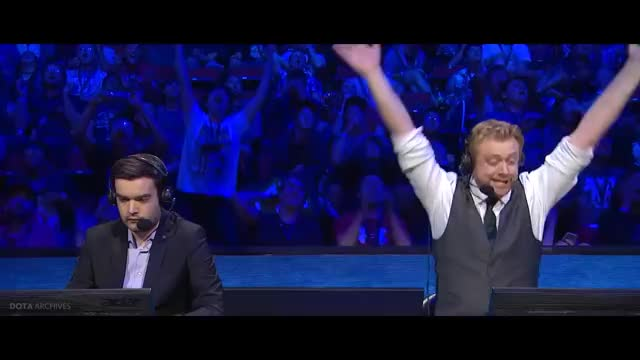 TobiWan Hype Casting Moments with Reaction Cam - Dota 2 TI7