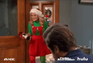 Watch and share Leslie Knope Christmas GIFs on Gfycat
