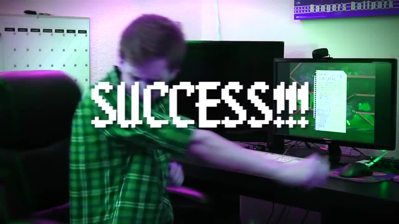 brutalmoose, caddicarus, game, jontron, jontronshow, pc, peanutbuttergamer, review, spacehamstergames, the completionist, SUCCESS!!! GIFs