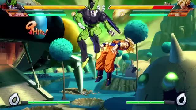 Watch Dragon Ball FighterZ - XB1/PS4/PC - Gameplay session #1 GIF by EventHubs (@eventhubs) on Gfycat. Discover more bandai namco, bandai namco entertainment, namco bandai GIFs on Gfycat