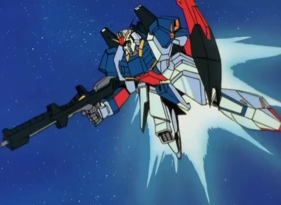 Wingsoflight, anime, animegifs, Zeta Transformation Reverse GIFs
