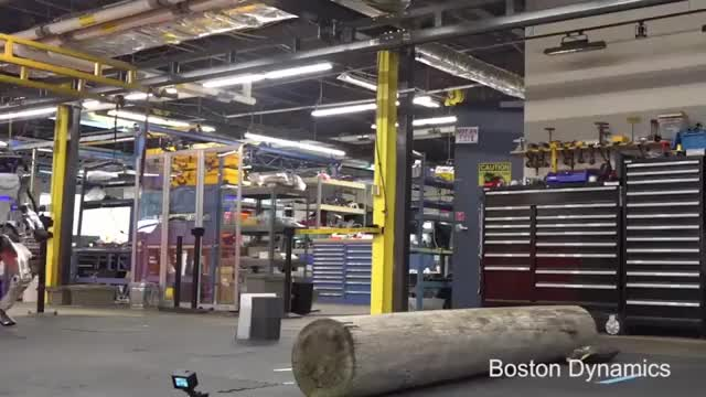 Watch Boston Dynamics robot doing parkour GIF on Gfycat. Discover more related GIFs on Gfycat