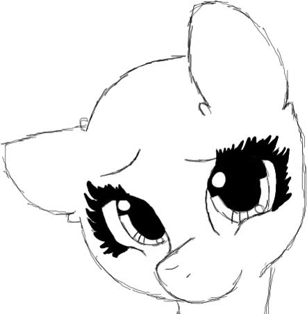 Watch and share Pony Base Blinking Gif By Wish-Granter GIFs on Gfycat