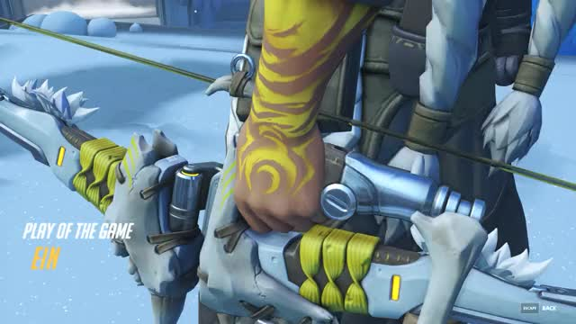 Watch Hanzo 1v3 Elimination GIF by @__ein__ on Gfycat. Discover more overwatch GIFs on Gfycat