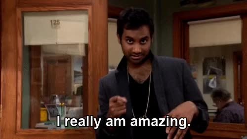 Watch and share Parks And Rec Tom Haverford GIFs on Gfycat