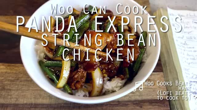 Watch and share Woo Can Cook   String Bean Chicken (Panda Express Hack) GIFs by WooCanCook on Gfycat