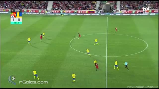 Watch and share (www.nGolos.com) Portugal 2-0 Sweden - Granqvist (Own Goal) 34' GIFs on Gfycat