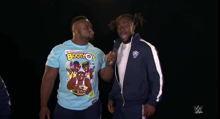 New Day, WWE, squaredcircle, Woods Popup GIFs