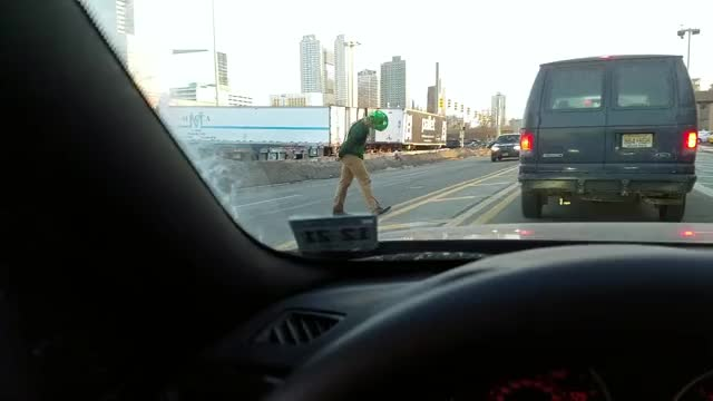Watch Drunk frolic home in traffic St Paddy's Day Holland Tunnel faceplant GIF on Gfycat. Discover more funny, st patricks, st pattys GIFs on Gfycat