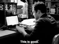 Watch new girl, jake m johnson, nick miller, this is good, excited GIF on Gfycat. Discover more related GIFs on Gfycat