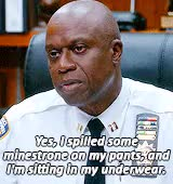 Watch and share Brooklyn Nine Nine GIFs and Andre Braugher GIFs on Gfycat