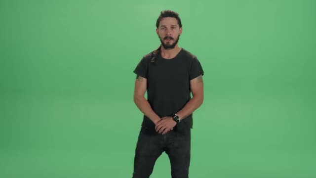 Watch and share Shia Labeouf Do It GIFs and Green Screen GIFs on Gfycat