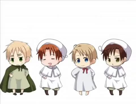 Watch and share Hetalia Chibi Dance GIFs on Gfycat