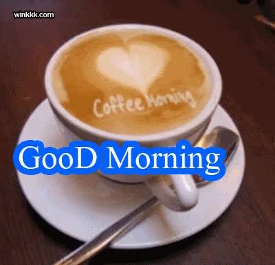 Watch and share Good Morning Coffee GIFs on Gfycat