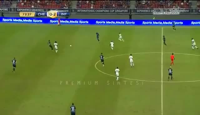Watch and share AUTOGOL KONDOGBIA Chelsea-Inter 1-2 - ICC 29/07/2017 HD GIFs on Gfycat