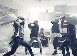 Watch and share Pillow Fight GIFs on Gfycat