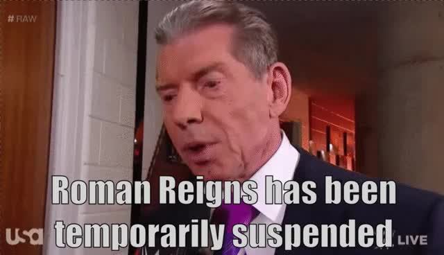 Watch and share Vince Mcmahon GIFs by Matthew Pack on Gfycat