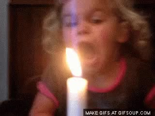 Watch and share Brithday Candle GIFs on Gfycat