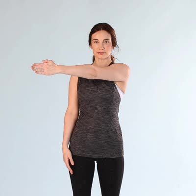 Watch 400x400-Side Arm Stretch GIF by Healthline (@healthline) on Gfycat. Discover more related GIFs on Gfycat