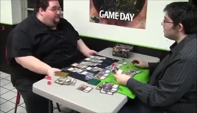 Watch and share Francis Plays Magic The Gathering GIFs on Gfycat