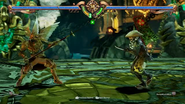 Watch Careful there! GIF by Shiny (@shinyflygon) on Gfycat. Discover more Soul Calibur VI GIFs on Gfycat