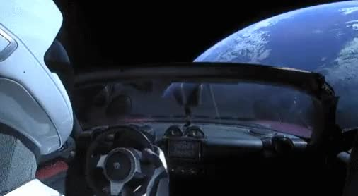 Watch Starman Timelapse GIF by /r/Dashcamgifs (@razorray21) on Gfycat. Discover more amazing, dashcam, dashcamgifs, reddit.com/r/dashcamgifs, space, spacex GIFs on Gfycat