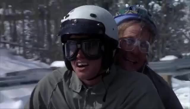Watch and share Dumb & Dumber - Scooter Scene (HD720p) GIFs on Gfycat