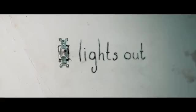 Watch Lights Out Official Trailer #1 (2016) - Teresa Palmer Horror Movie HD GIF on Gfycat. Discover more related GIFs on Gfycat