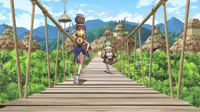 Watch and share Dr. Stone Episode 15 GIFs by Ana Rose on Gfycat
