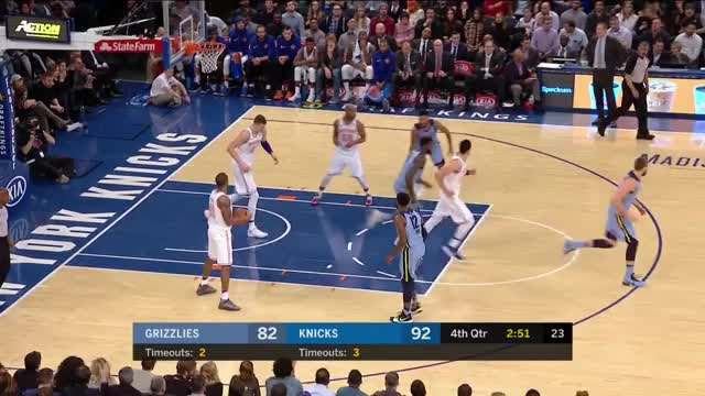 Watch and share Memphis Grizzlies GIFs and New York Knicks GIFs by mmiranda on Gfycat