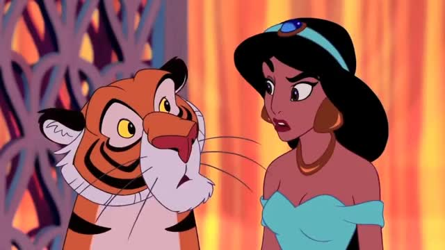 Watch this trending GIF on Gfycat. Discover more Aladdin, Imitation, Impression, Instrumental, Princess, balcony, dub, fandub, genie, heartofanxiety, jasmine, larkin, lea, linda, rajah, robin, salonga, scene, voice, williams GIFs on Gfycat