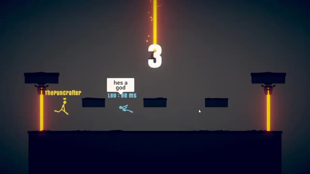 Watch and share Stickfight Dodge GIFs by puncrafter on Gfycat