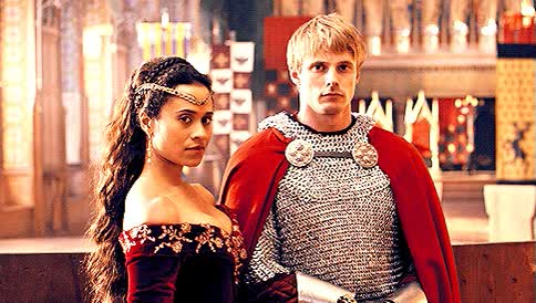 Watch and share Bradley James GIFs and Angel Coulby GIFs on Gfycat