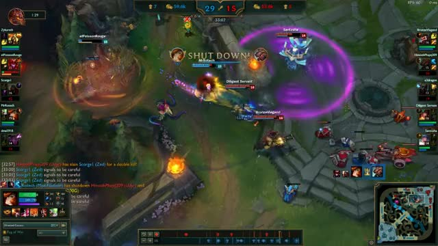 Watch Kayle Blind Triple Kill GIF by @zykareth on Gfycat. Discover more related GIFs on Gfycat
