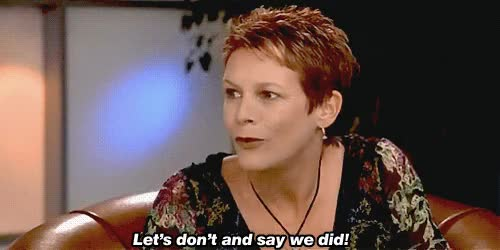 Watch and share Jamie Lee Curtis GIFs on Gfycat