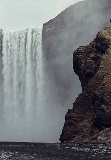 Watch and share Beautiful Colorful Pictures And Gifs: Waterfall_Cascada-Animated-gif. GIFs on Gfycat