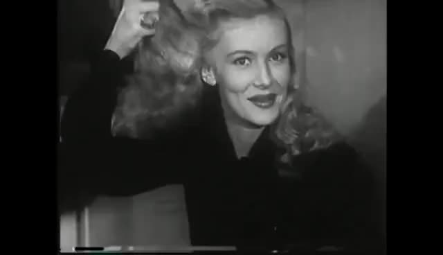 Watch Veronica Lake 1940's Hairstyle GIF on Gfycat. Discover more related GIFs on Gfycat