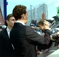 Watch THIS will always be my favorite gif. I smile every time I se GIF on Gfycat. Discover more fans, high fives, tom hiddleston GIFs on Gfycat
