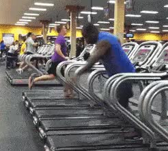 Watch and share Funny Treadmill Dancing GIFs on Gfycat