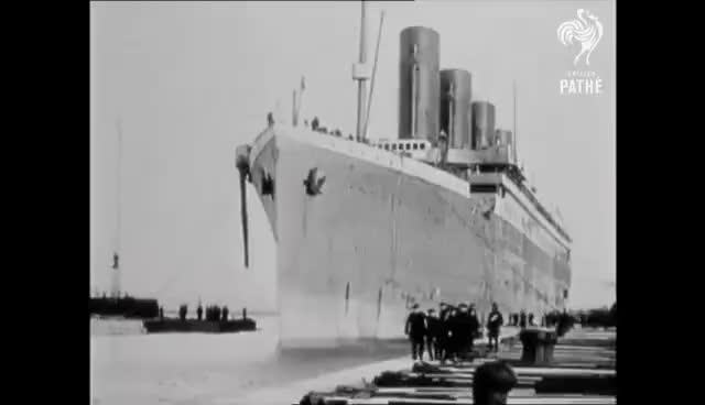 Watch and share Titanic And Survivors - Genuine 1912 Footage GIFs on Gfycat