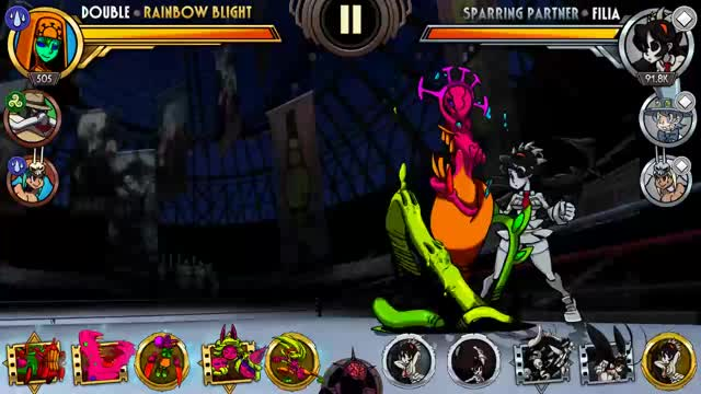 Watch Double Combo Contest GIF by Skullgirls Mobile (@sgmobile) on Gfycat. Discover more double, skullgirls, skullgirls mobile GIFs on Gfycat
