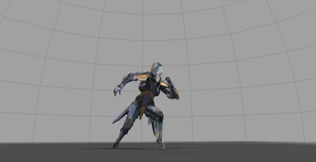 Watch and share Runner Agile GIFs by Warframe on Gfycat
